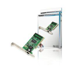 Mrežna kartica KONIG Gigabit PCI 32-bit, 10/100/1000Mbps Auto-Negotiation, Full duplex, RJ45 port