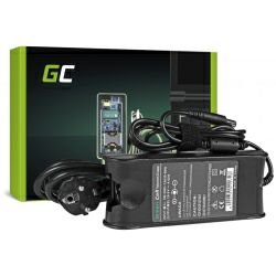 Green Cell (AD09) AC adapter 90W, 19V/4.62A, 7.4mm-5.0mm