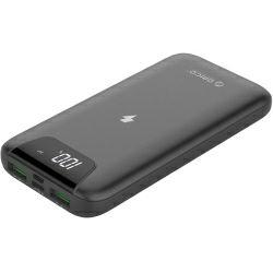 Orico punjač bežićni Powerbank, 10000mAh, Micro USB, 2xUSB-A, LCD, sivi (ORICO WR-10-GY-PRO)
