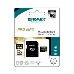 Memorijska kartica Kingmax Micro Secure Digital (XC) Pro Max 64GB Class 10 UHS-I U3 V30 A1