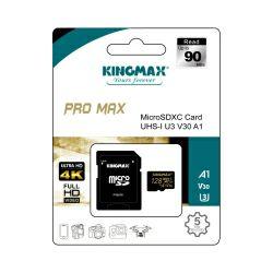 Memorijska karticaKingmax Micro Secure Digital (XC) Pro Max 128GB Class 10 UHS-I U3 V30 A1