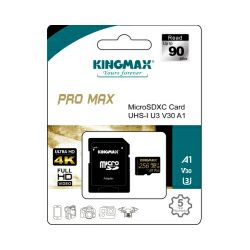 Memorijska kartica Kingmax Micro Secure Digital (XC) Pro Max 256GB Class 10 UHS-I U3 V30 A1