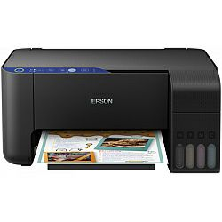 Printer Epson EcoTank L3151 Print/Scan/Copy A4 pisač, 33/15 str/min. b/c, 5760×1440 dpi, USB/WiFi/Wi-Fi Direct, punjivi spremnici za tintu (zaliha za ispis do 3 god.) (C11CG86406)