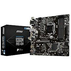 Matična ploča MSI MB B360M PRO-VDH, S.1151, B360, DDR4/2666, PCIe, SATA3, G-LAN, VGA/DVI-D/HDMI, USB3.1, 8ch., mATX
