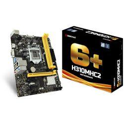 Matična ploča Biostar MB H310MHC2, S.1151, iH310, DDR4/2666, PCIe, VGA/HDMI, SATA3, G-LAN, USB3.1, 8ch., mATX
