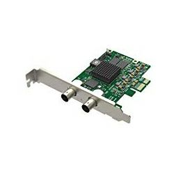 Magewell Pro capture SDI, LP PCIe x1, 1-channel SD/HD/3G/2K SDI. Single channel bypass loop. Windows/Linux/Mac.
