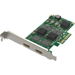 Magewell Pro capture dual HDMI, LP PCIe x4, 2-channel HDMI, plus standard 3D images. Window/Linux/Mac.