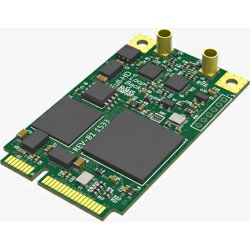 Magewell Pro capture mini SDI (no heat sink), mini PCIe, 1-channel SDI with loop through. No heat sink. Windows/Linux/Mac.
