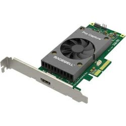 Magewell Pro capture HDMI 4K Plus, LP PCIe x4, 1-channel HDMI, Ultra HD 4Kp60. Windows/Linux/Mac.