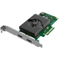 Magewell Pro capture HDMI 4K Plus LT, LP PCIe x4, 1-channel HDMI, Ultra HD 4Kp60. Loop-through. Windows/Linux/Mac.