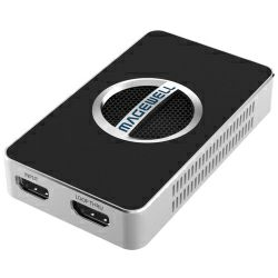 Magewell USB Capture HDMI 4K Plus , USB 3.0 DONGLE, 1-channel 4K/30fps HDMI with loop-through out, plus extra audio mic in / out. Plug and Play. Windows/Linux/Mac. 3-year warranty.