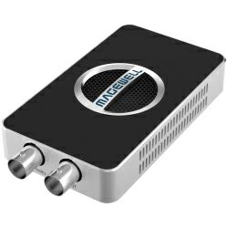 Magewell USB Capture SDI 4K Plus, USB 3.0 DONGLE, 1-channel HD/3G/2K/6G SDI 4K/30fps with loop-through out, plus extra audio line in / out. Plug and Play. Windows/Linux/Mac. 3-year warranty.