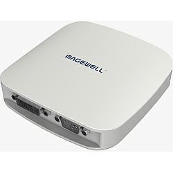 Magewell XI104XUSB, USB 3.0 BOX, 1-channel HD AND 4-channel SD; HDMI / DVI / VGA / YPbPr / CVBS, plus two unbalanced stereo audio. Windows Only.