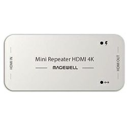 Magewell Mini Repeater HDMI 4K, The repeater receives and equalizes an HDMI signal and outputs it to another HDMI cable.