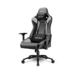 Sharkoon Elbrus 3, igraća stolica, crno-siva