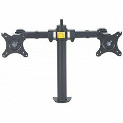 LCD Monitor Mount with Double-Link Swing Arms up to 30