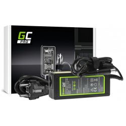 Green Cell (AD12P) AC adapter 65W za HP, 18.5V/3.5A, 7.4mm-5.0mm