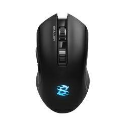 Sharkoon Skiller SGM3 bežični optički igraći miš, RGB, 6000dpi, crni