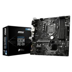 MSI MB B365M PRO-VDH, B365, S.1151, DDR4/2666, PCIe, SATA3, M.2, G-LAN, VGA/DVI-D/HDMI, USB3.1, 8ch.,mATX