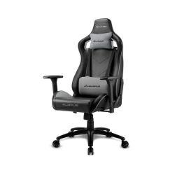 Sharkoon Elbrus 2, igraća stolica, crno-siva