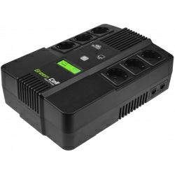 Green Cell UPS AiO 600VA/360W, Line Interactive AVR, LCD