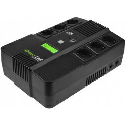 Green Cell UPS AiO 800VA/480W, Line Interactive AVR, LCD
