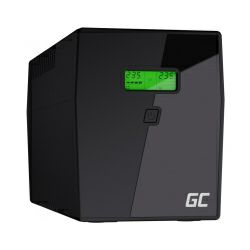 Green Cell UPS Microsine 2000VA/1400W, Line Interactive Pure Sinewave, LCD