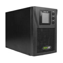 Green Cell UPS Online MPII 1000VA/900W, LCD