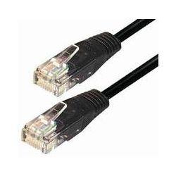 Transmedia UTP Cat.5e Kabel 15M, Crno