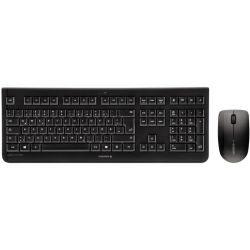 Tipkovnica + miš Cherry DW-3000 bežična, crna
