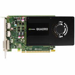Grafička kartica NVIDIA Quadro  K2200 4 GB GDDR5/128-bit, DVI-I (1), DP 1.2 (2)/Single Slot