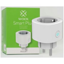 WOOX WiFi Smart utičnica, 16A/3680W, Tuya smart app, glasovna kontrola - Alexa & Google Assistant, Wi-Fi kontrola, Timer/Schedule postavke