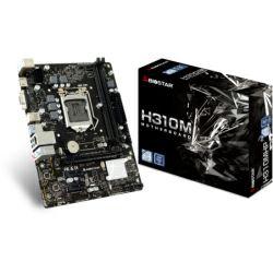 Biostar MB H310MHP, S.1151, DDR4/2666, PCIe, G-LAN, 7.1ch, VGA/HDMI, USB3.2, mATX