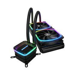 Enermax AQUAFUSION 120 RGB, vodeno hlađenje za procesore Intel LGA 1200 / AMD AM4 (ELC-AQF120-SQA)