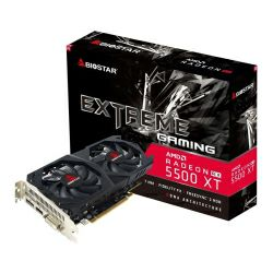 Biostar AMD Radeon RX5500XT 8GB GDDR6/128-bit, PCIe 4.0, HDMI/DP