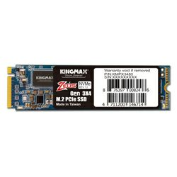 Kingmax 256GB M.2 SSD PX3480 2280 PCIe Gen 3x4 R/W: 1950/1200MB/s