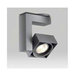 Delta Light spot reflektor nadgradni Spatio - sivi