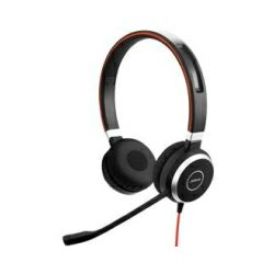 Jabra Evolve 40 naglavne slušalice sa mikrofonom, eliminacija buke, USB