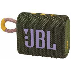 JBL Go 3 prijenosni zvučnik BT5.1, vodootporan IP67, zeleni