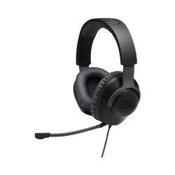 JBL Quantum 100 naglavne igraće slušalice s mikrofonom, 3.5mm, crne