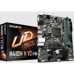 GigaByte MB H410M H V2, S.1200, DDR4/2933, PCIe, M.2, G-LAN, VGA/HDMI, mATX