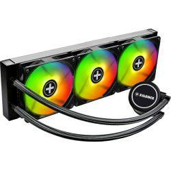 Xilence LiQuRizer LQ360.ARGB vodeno hlađenje za procesore Intel/AMD Multi socket, RGB 3×120mm ventilator + kontroler/splitter