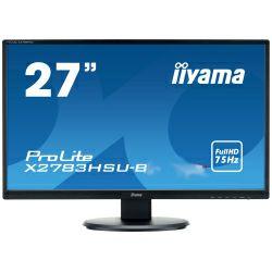 Monitor IIYAMA ProLite X2783HSU-B6 16:9 Full HD (1920×1080) IPS LED, 4ms, VGA/HDMI/DP, USB2.0×2, HDCP, zvučnici, crni