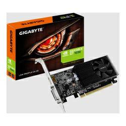 Gigabyte GeForce GT1030 2G, 2GB GDDR4/64-bit, PCIe 3.0, DVI-D/HDMI, Low profile (GV-N1030D4-2GL)