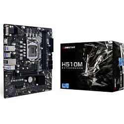 Biostar MB H510MH 2.0, S.1200, DDR4/3200, PCIe 4.0, VGA/HDMI, SATA3/M.2, G-LAN, USB3.2, mATX