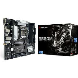 Biostar MB B560MX-E PRO, S.1200, DDR4/4000+(OC), PCIe 4.0, VGA/DVI-D/HDMI, SATA3/M.2, G-LAN, USB3.2, mATX