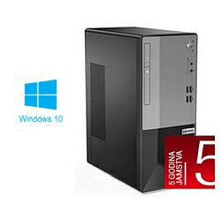Lenovo V50t-13IMB Tower, Intel Core i5-10400, 8GB DDR4, 512GB NVMe SSD, Intel UHD, DVDRW, Windows 10 Professional (11ED002GCR) + tipkovnica/miš