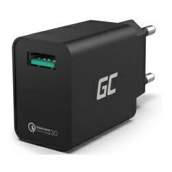 Green Cell ( CHAR06) zidni punjač USB QC 3.0