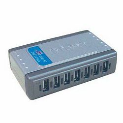 D-LINK DUB-H7, E 7-Port USB 2.0 Hub