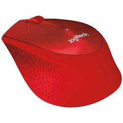 Bežični miš LOGITECH M330 SILENT PLUS - EMEA - RED